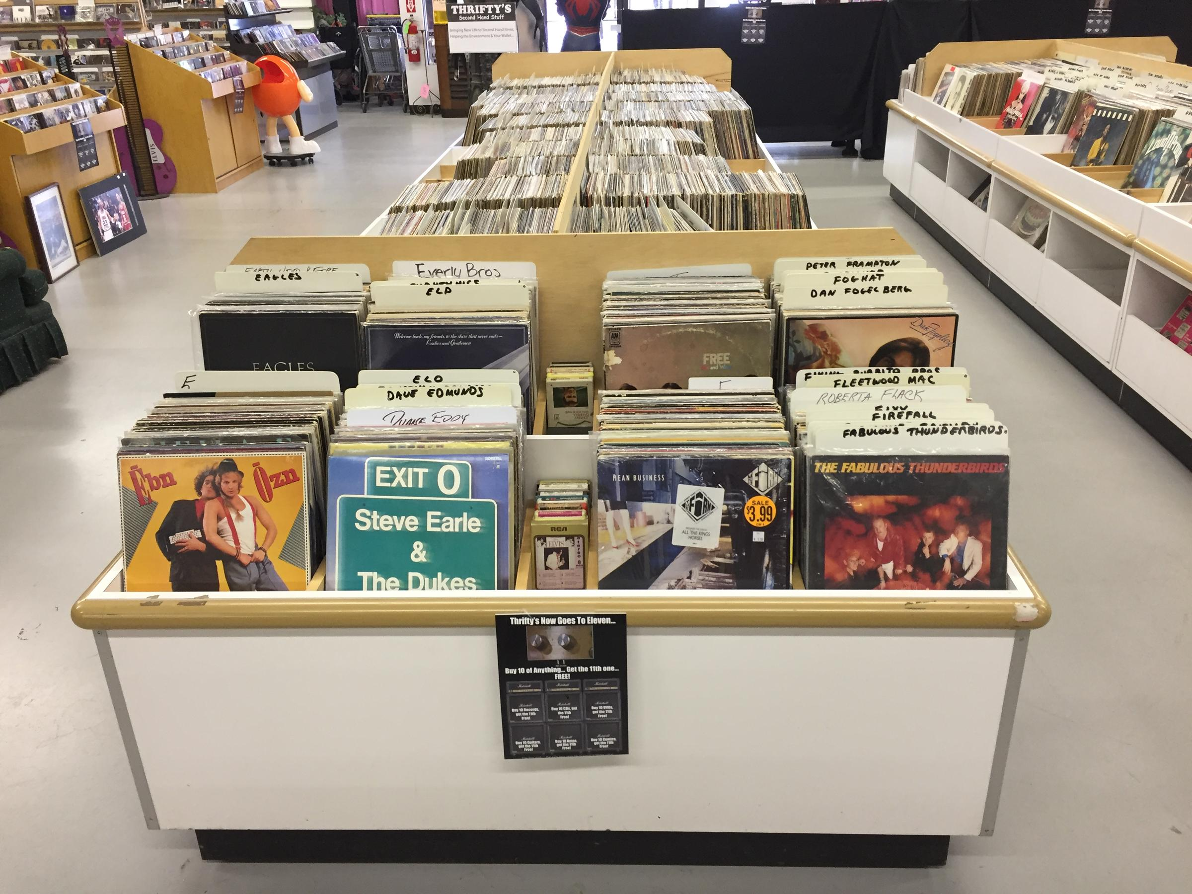 Vintage Vinyl Is Big Business for Second-Hand Store in