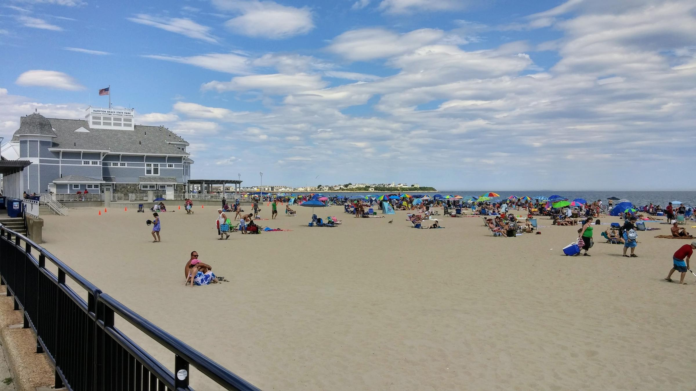 Hampton Beach In 2016