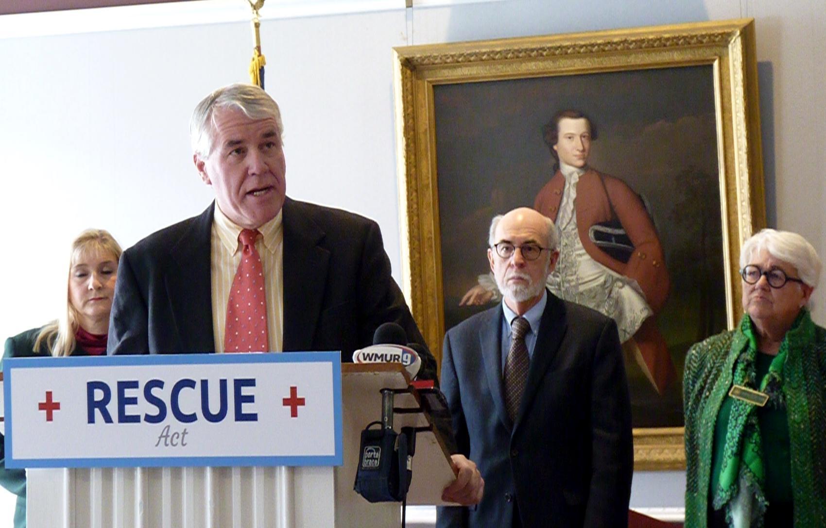 Jury Selected In Former State Senator Woodburn's Domestic