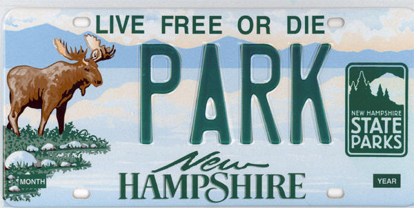 Moose License Plate Combos Sell Out So N H Adds P For Preservation New Hampshire Public Radio