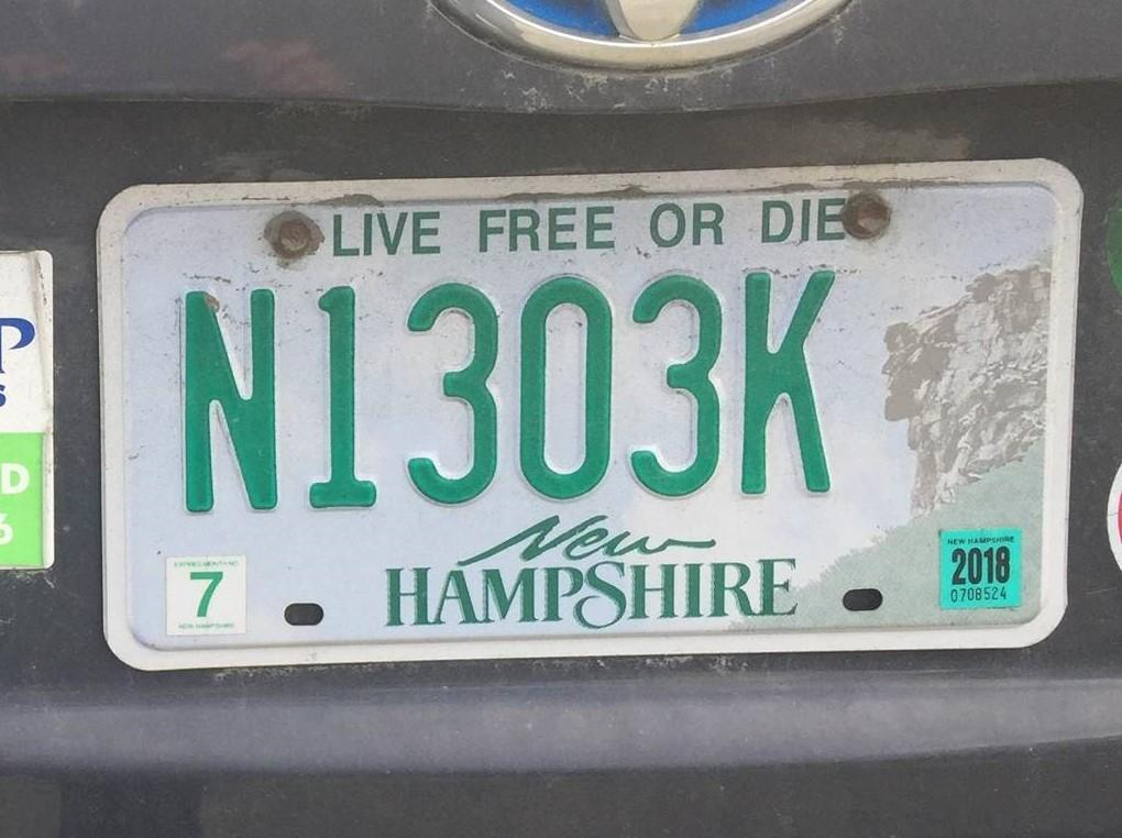 Vanity Plates A Father S Plate Tells One Family S Story Of Battling Cystic Fibrosis New Hampshire Public Radio