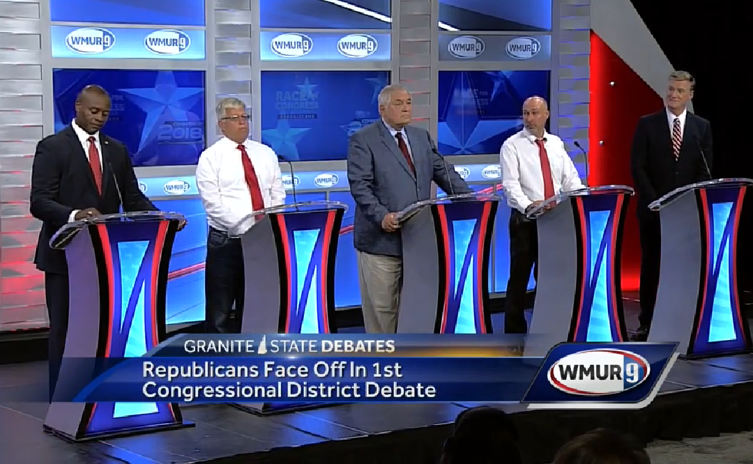 Sparks Fly in GOP Debate in the 1st Congressional District