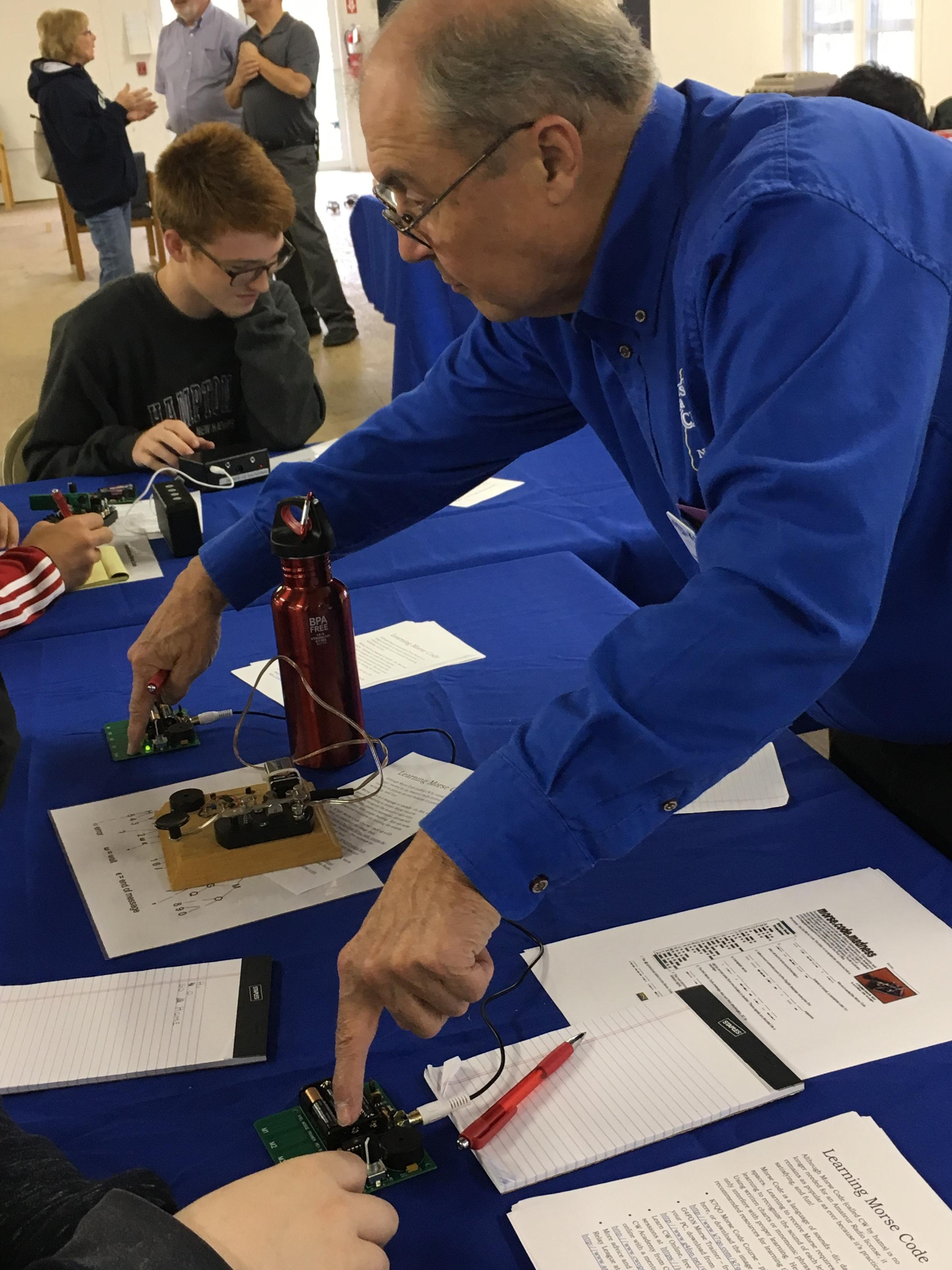 Students Join Ham Radio Enthusiasts in Deerfield | New