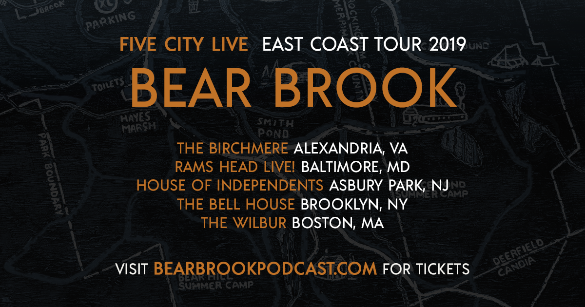 Five City LIVE: Bear Brook Podcast On Tour | New Hampshire