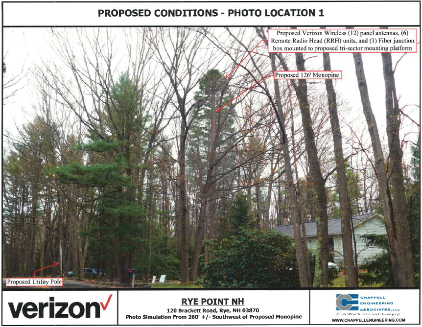 Rye Voters Approve Controversial New Cell Tower | New Hampshire