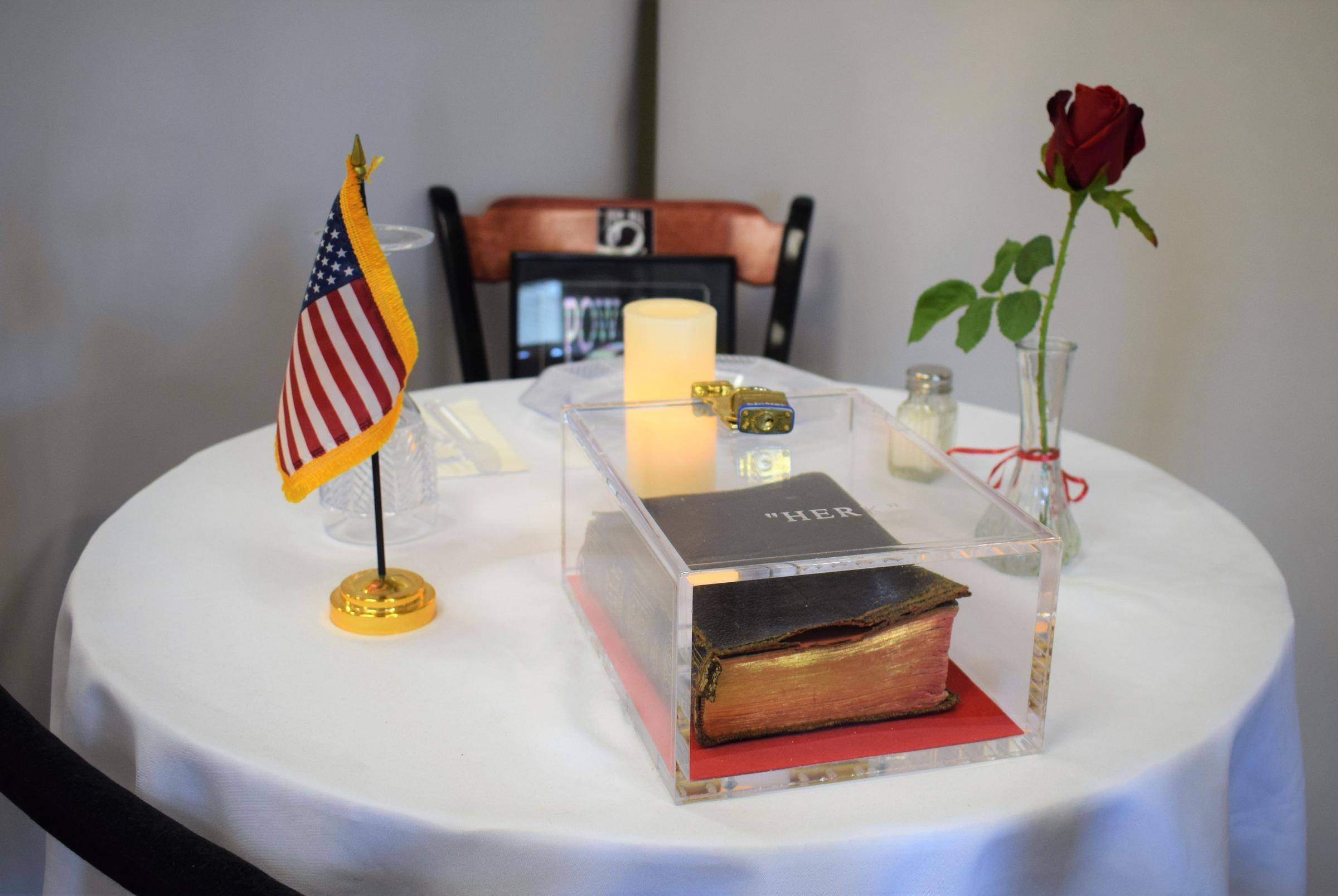 picture about Missing Man Table Poem Printable known as Lawsuit Submitted More than Present of Bible at Manchester VA Clinical