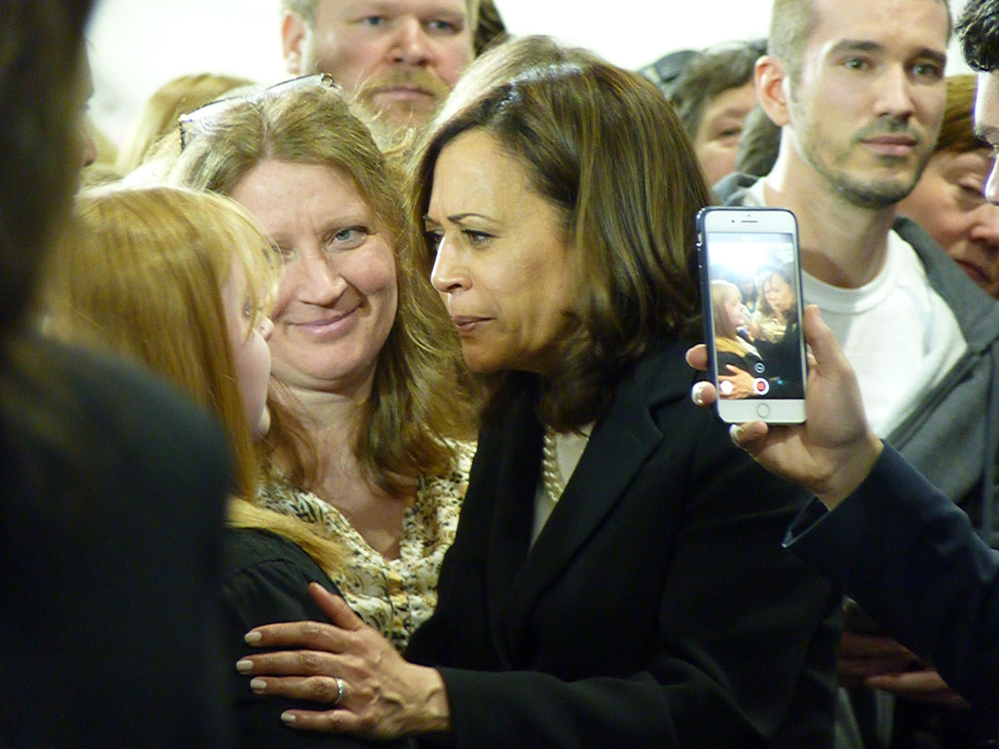 Kamala Harris Champions Abortion Rights At N H  Campaign