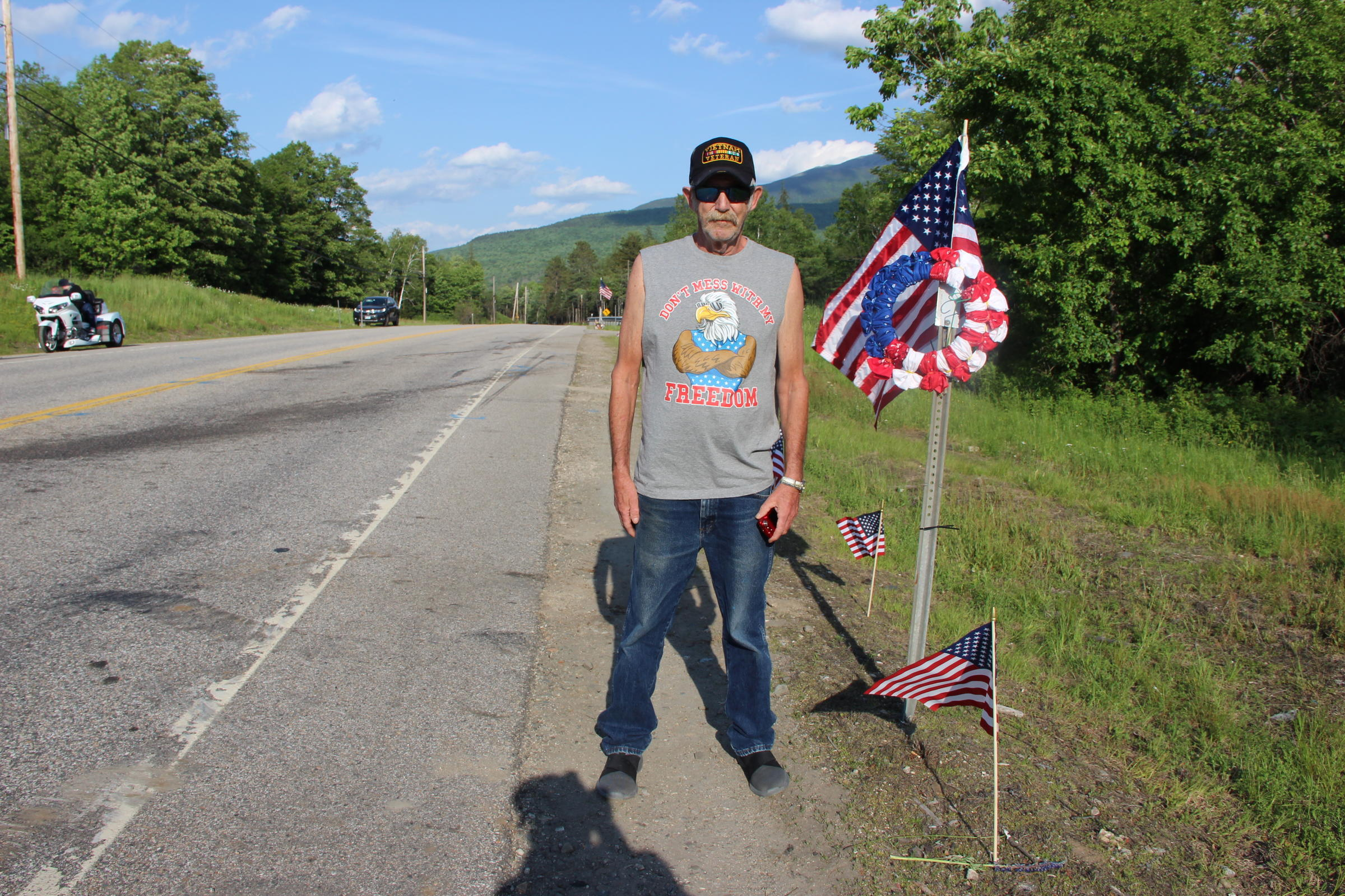 After the Crash: Route 2 Becomes Memorial in Wake of