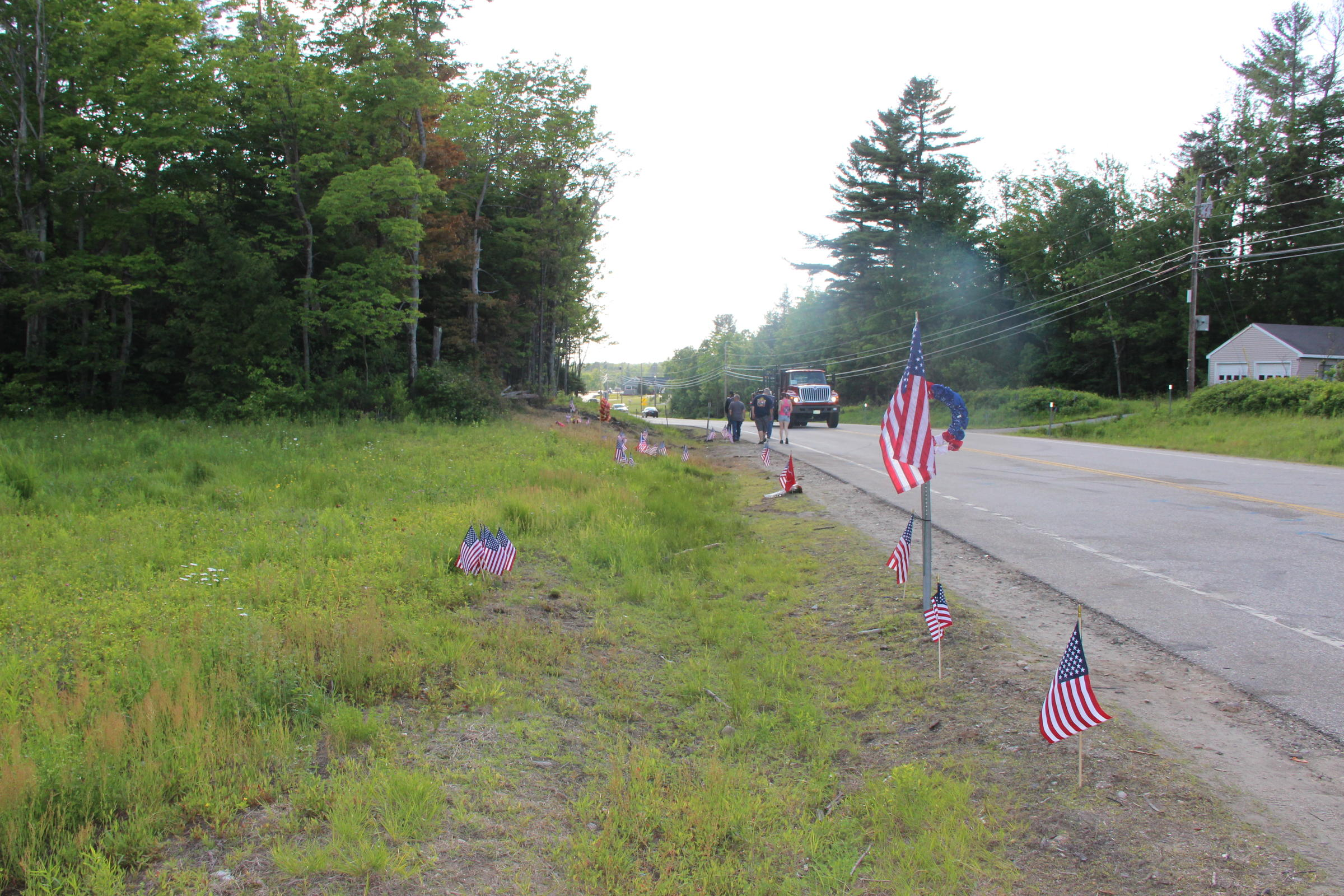 After the Crash: Route 2 Becomes Memorial in Wake of Motorcycle