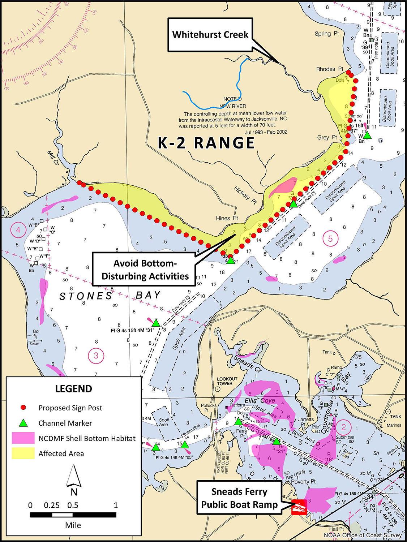Camp Lejeune North Carolina Map on