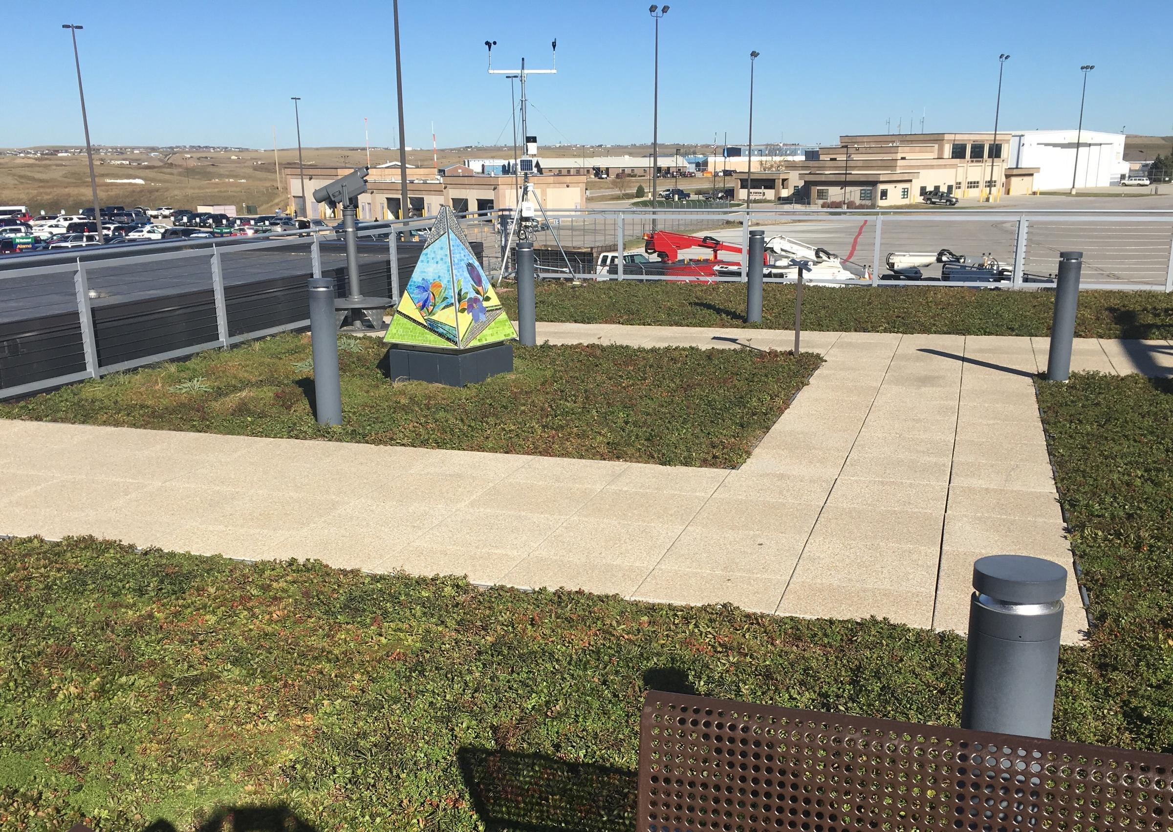 Rapid City Airport Roof Gets Green Makeover Sdpb Radio