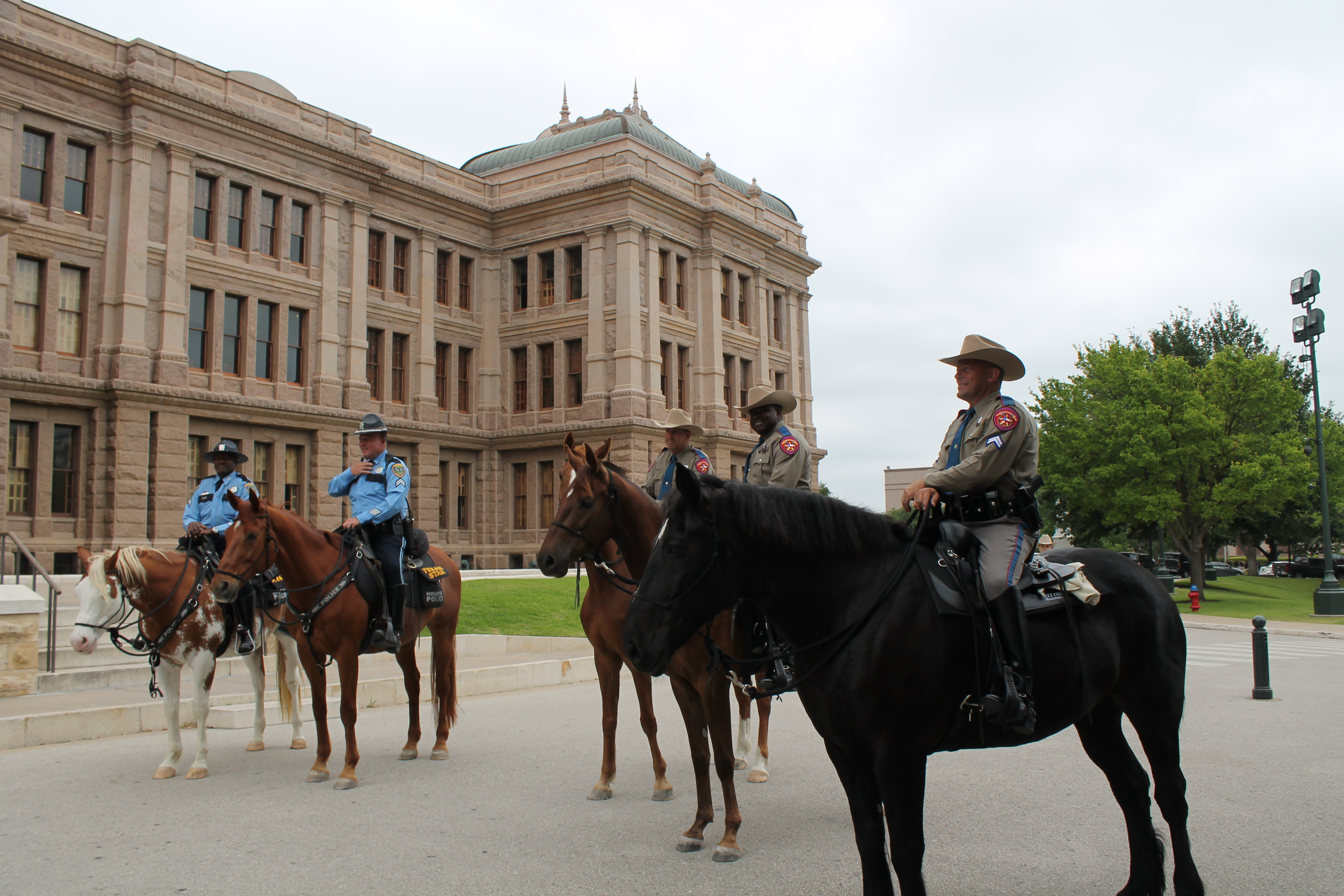 DPS Launches Mounted State Capitol Patrol Ahead Of 2015