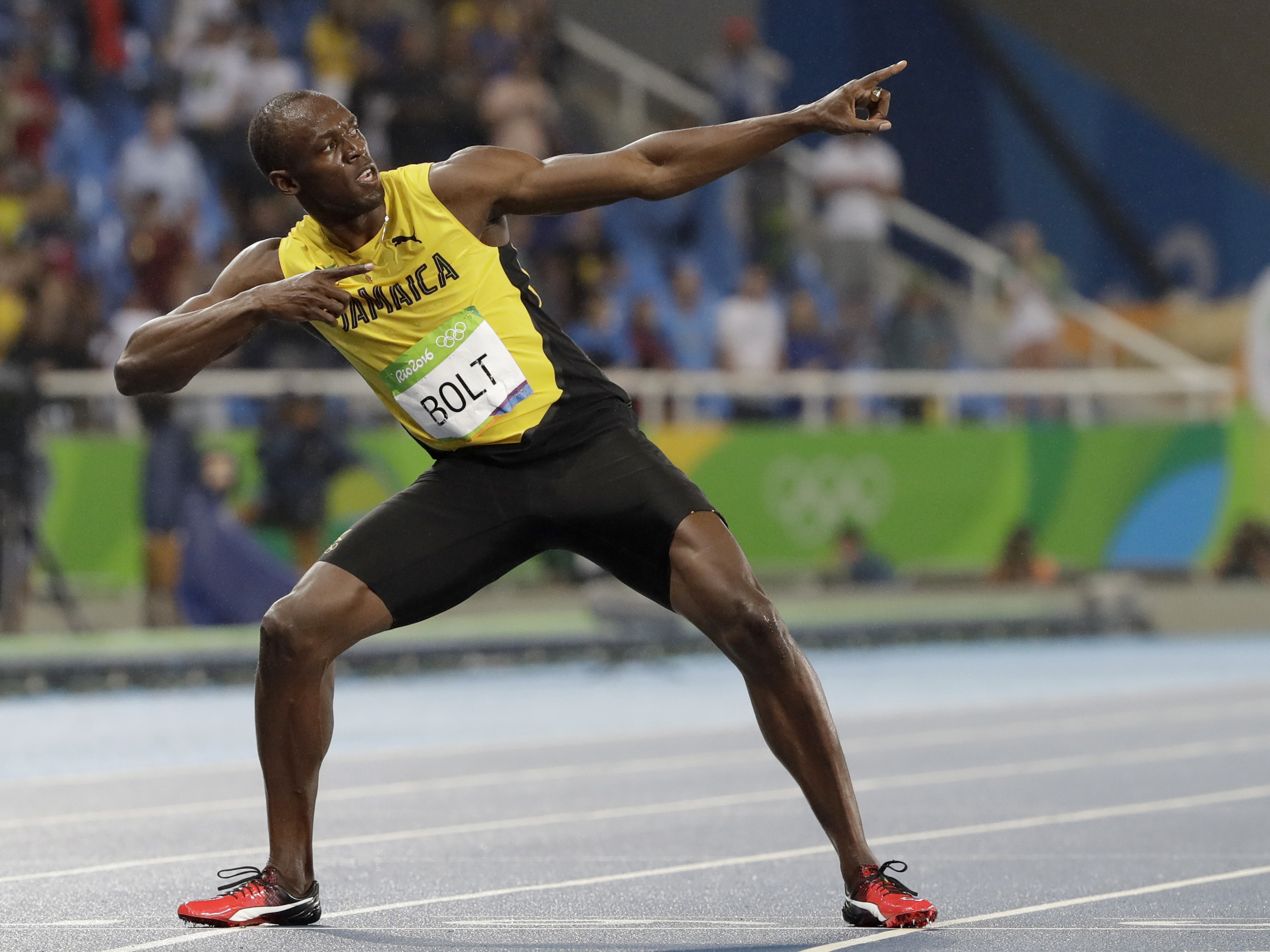 Usain Bolt's Final 100-Meter Race: 'There He Goes' | KRWG