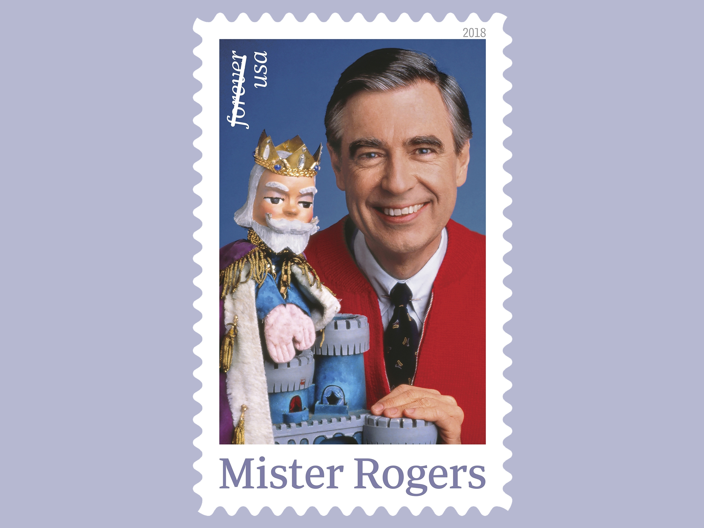 Mister Rogers Is Coming Back To Your Neighborhood On A Stamp 90 5 Wesa