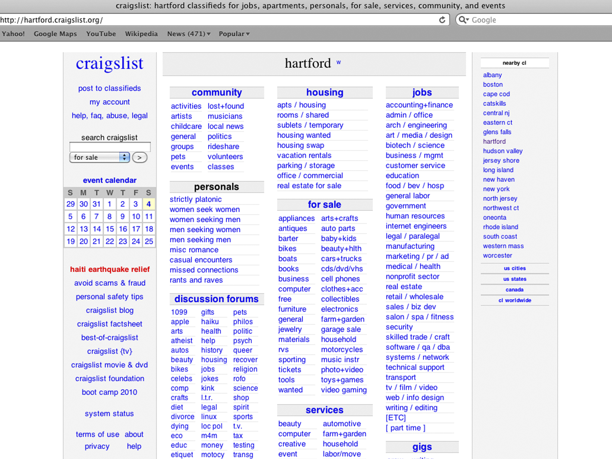 Craigslist Shuts Down Personals Section After Congress