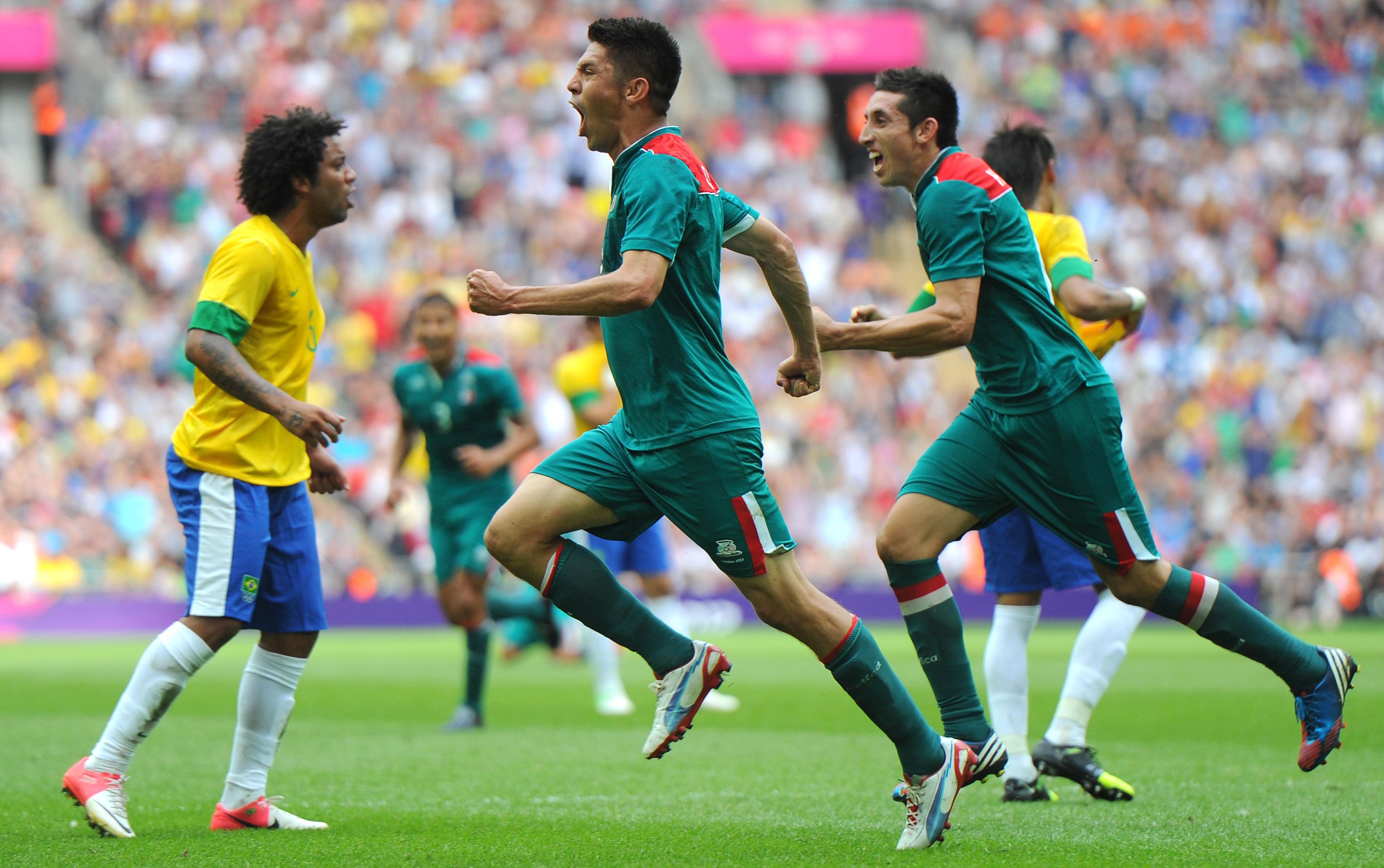 Mexico Devastates Brazil In Historic 2-1 Olympic Soccer Final   WVXU