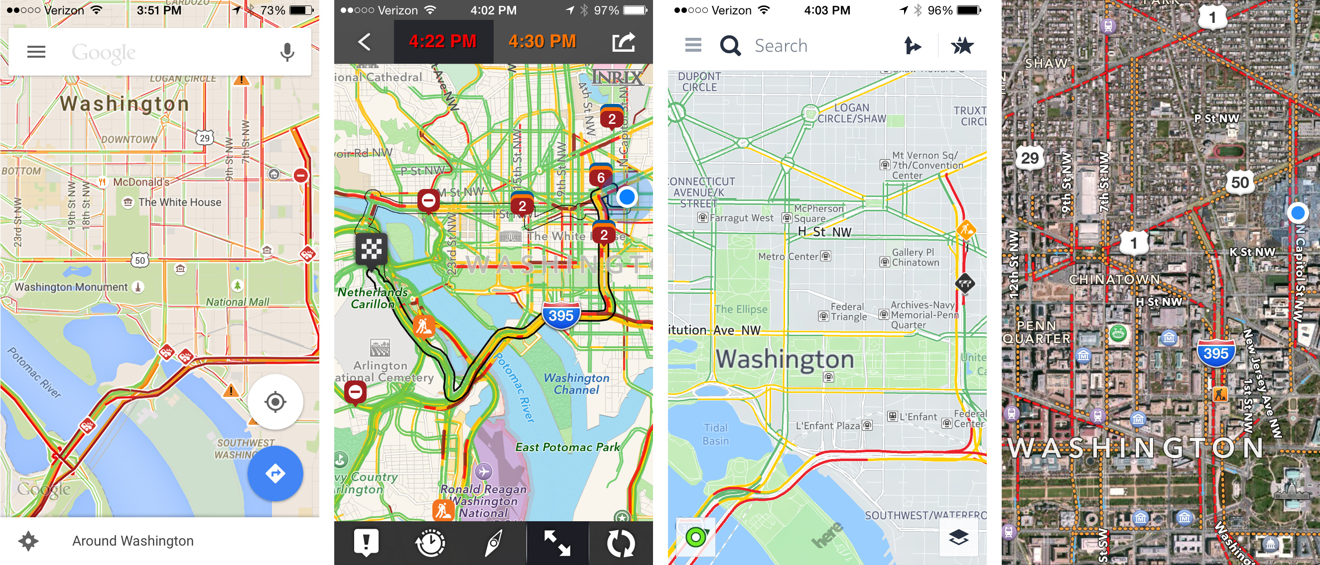 The Tech Behind Traffic Apps: How (Well) Do They Work? | WVXU
