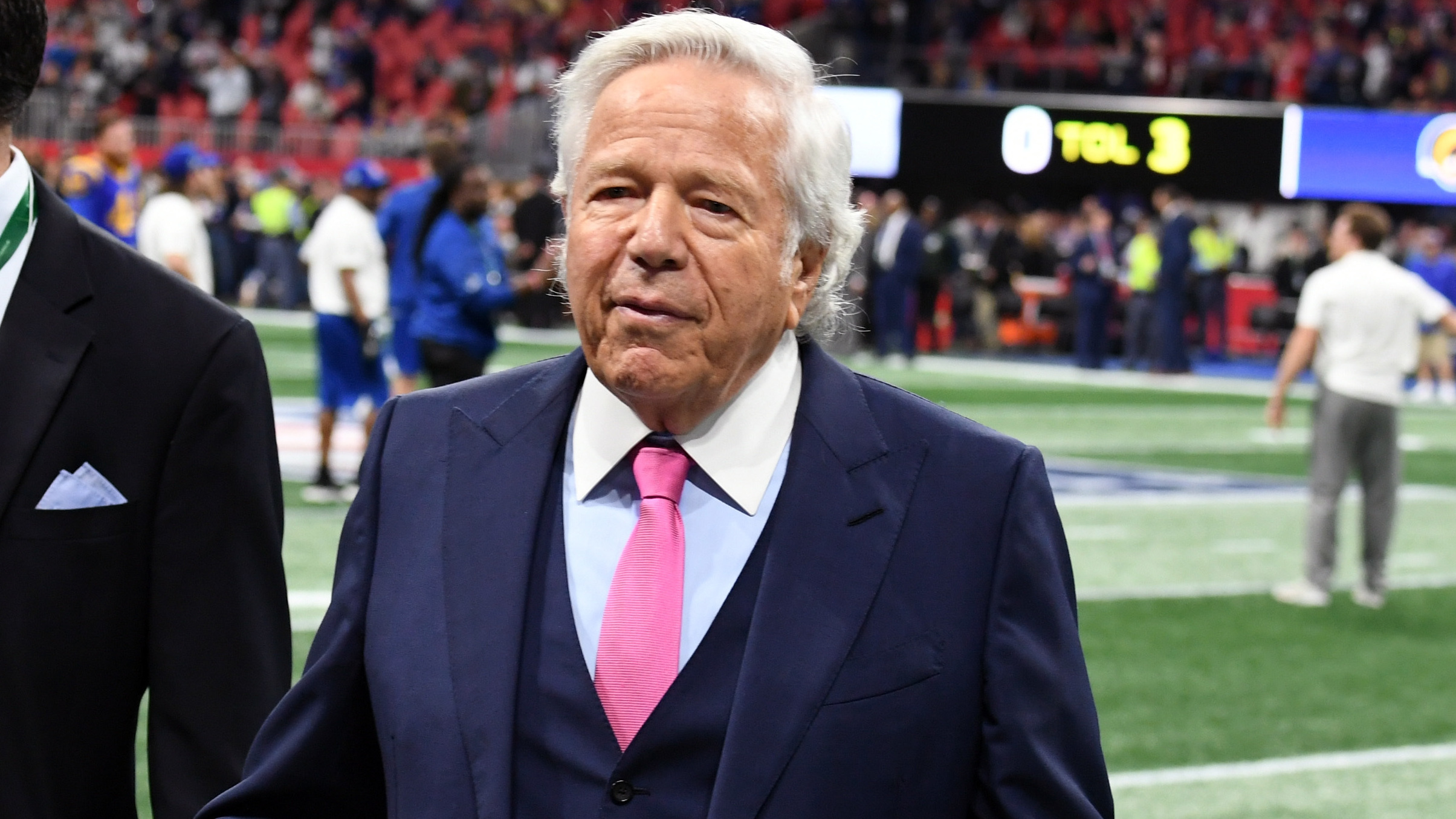 Robert Kraft Is Formally Charged With Solicitation Over Visits To