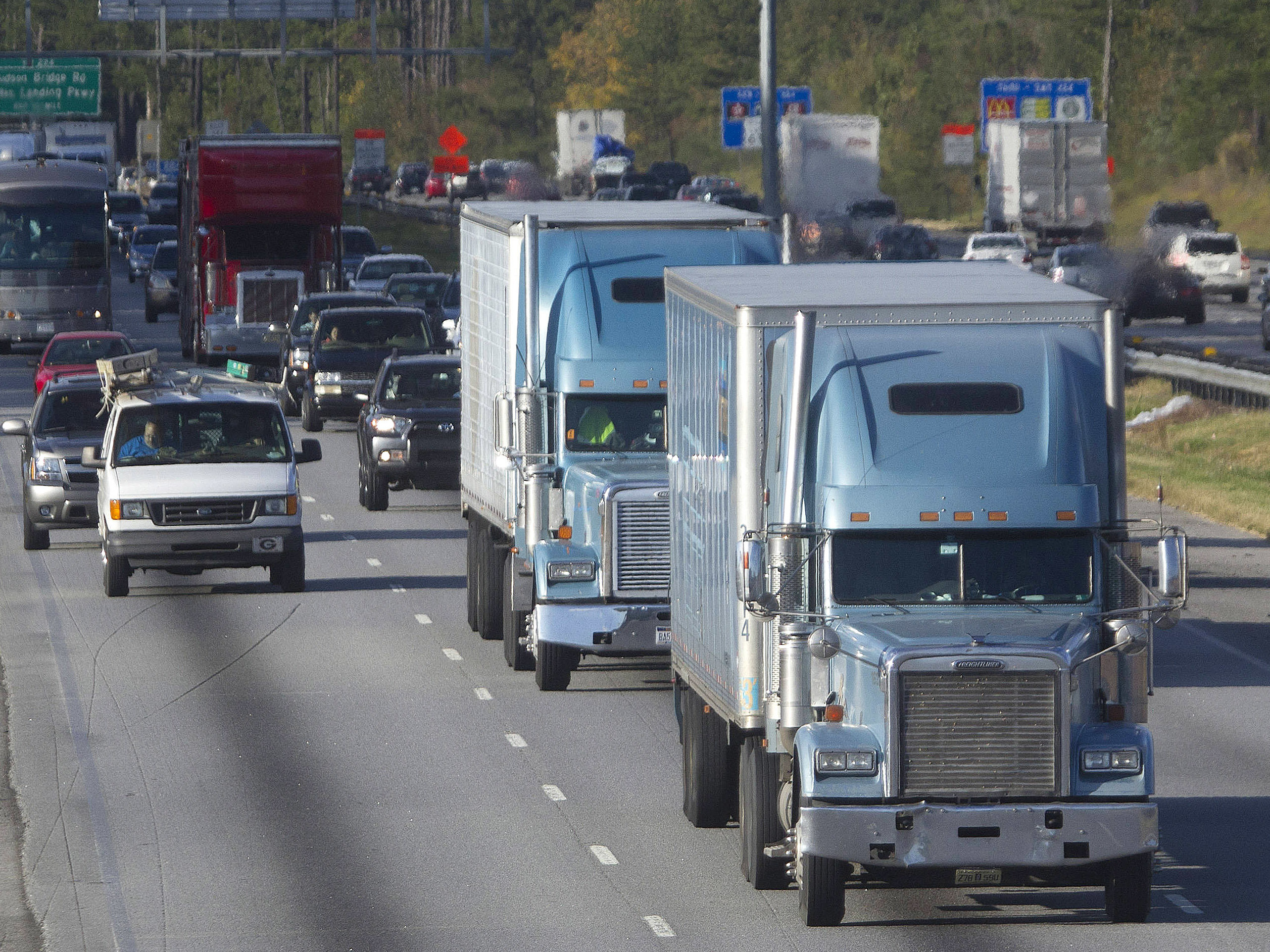 Facing A Critical Shortage Of Drivers, The Trucking Industry