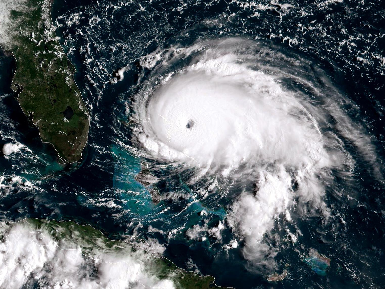 Historic Hurricane Dorian Bears Down On Northern Bahamas As