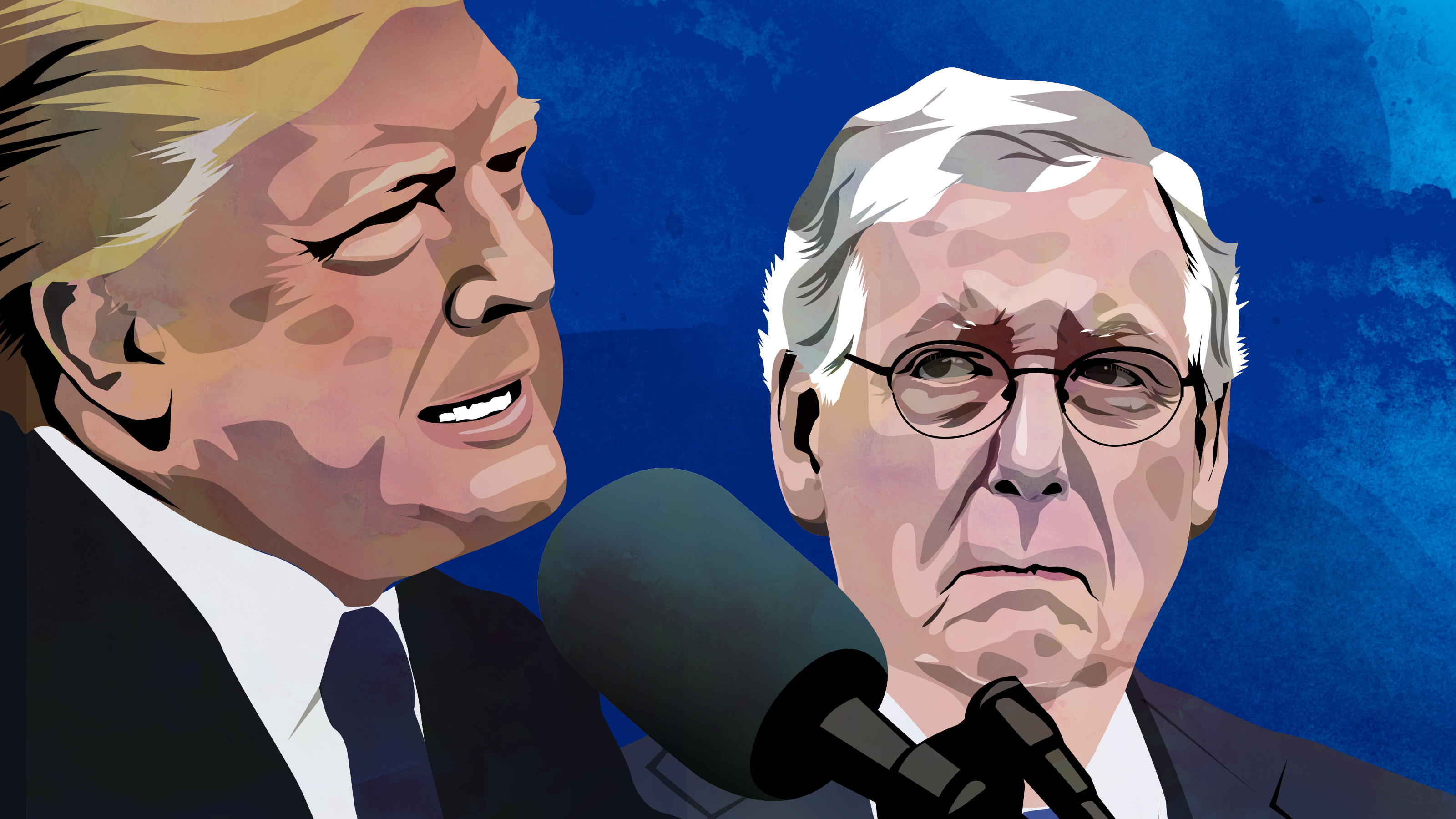 You May Need The Money More Than I Do': McConnell Once Returned Trump's  Donation | WUNC