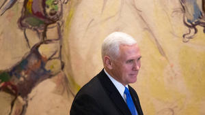 U.S. Embassy In Jerusalem Will Open By End Of 2019, Pence Says In Israel