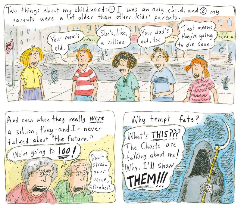 A Cartoonist's Funny, Heartbreaking Take On Caring For Aging