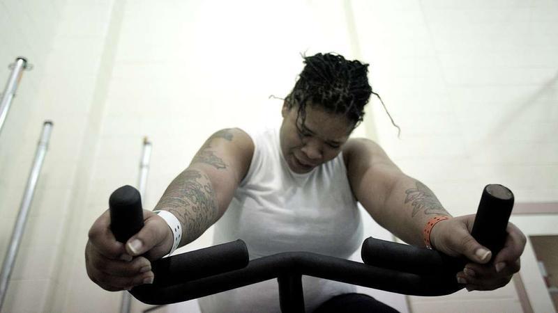 Biking Behind Bars: Female Inmates Battle Weight Gain | Side Effects