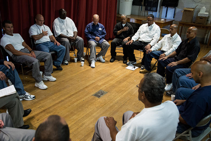 At Mass  Prison, Inmates And Victims Get A Chance At Dialogue