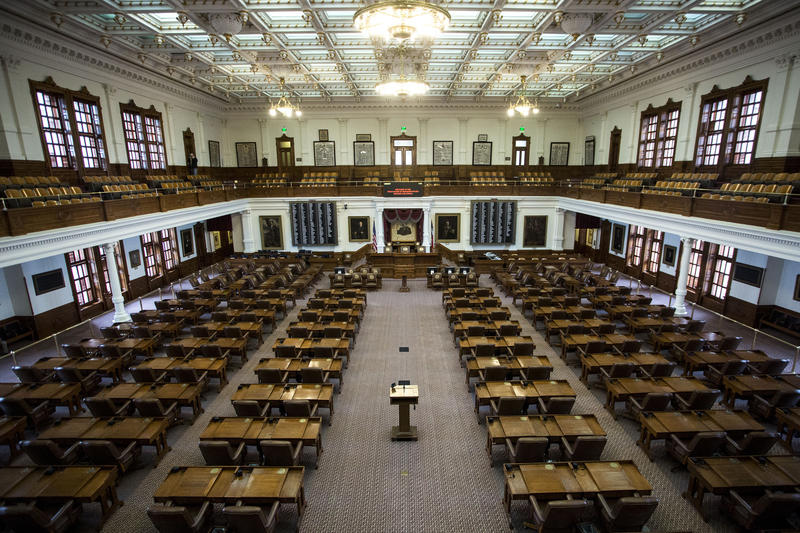 How Can Texans Find Out When A Bill Is Up For Consideration