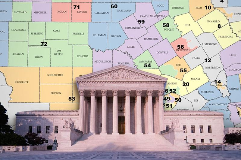 Map Of Texas House District 60.Redistricting Kera News