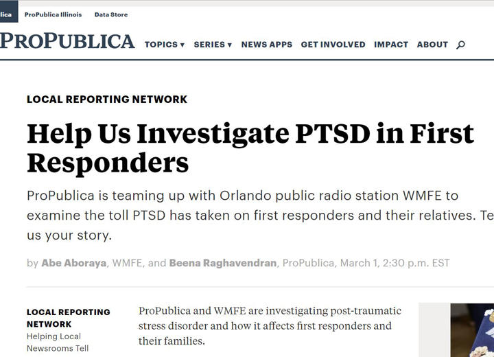 PTSD Now Included in FL Workers' Comp   WLRN