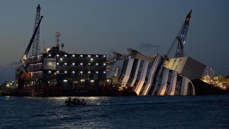 Mission Success: Costa Concordia Is Vertical | KUNC