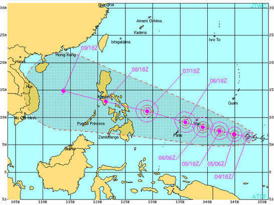 Developing Super-Typhoon Aims For The Philippines | WYSO