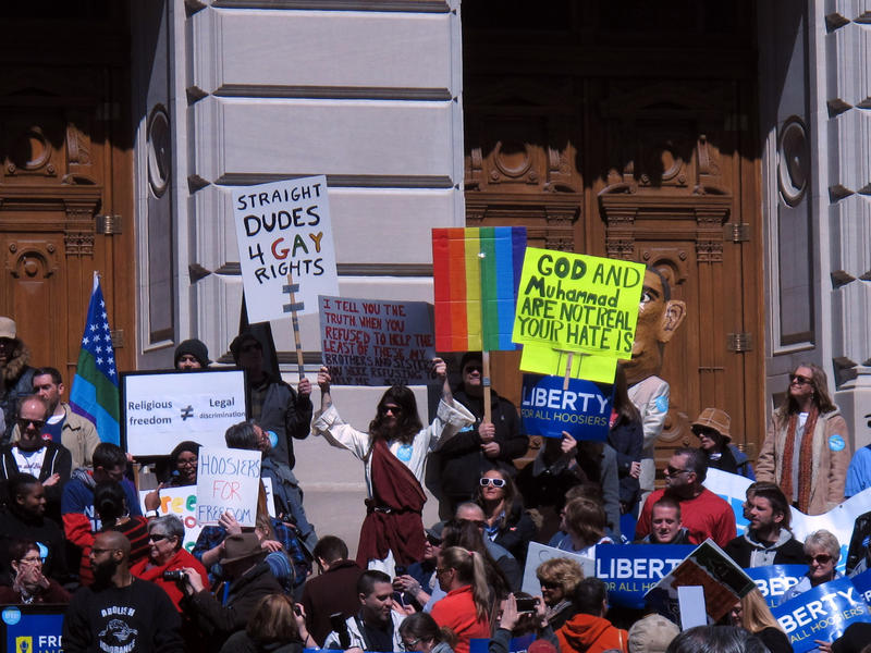 Indiana 'Religious Freedom' Law Sparks Criticism Across the