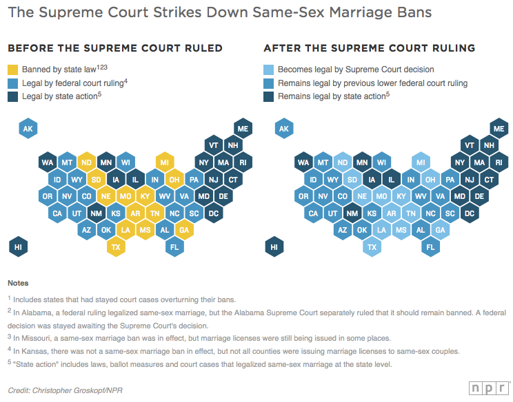 Map: Here's How Same- Marriage Laws Will Now Change ... on new moon map, love wins map, inbreeding map, stages of life map, 9gag map, sovereignty map, numerology map, long trip map, family interaction map, metaphysical map, lawyers map, doctrine map, food issues map, middle class map, birth control map, modernism map, addiction map, heredity map, life calling map,