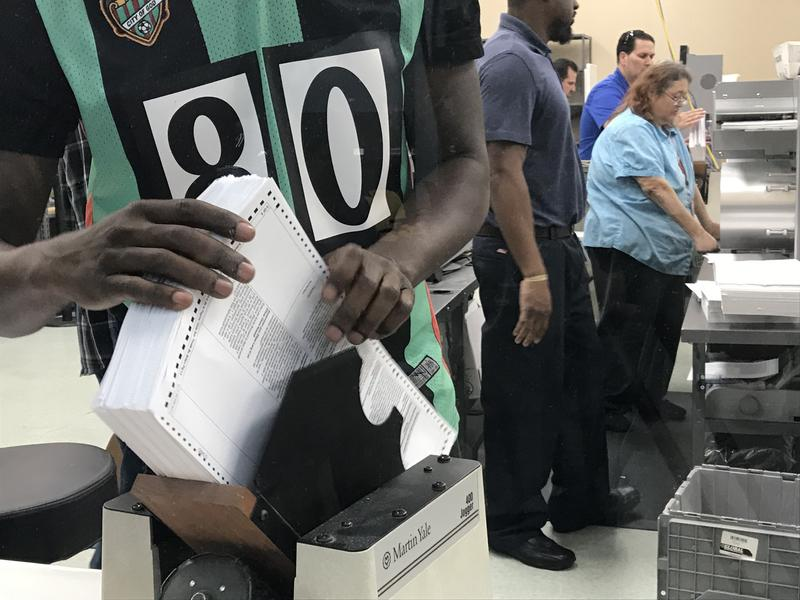 Why Is Miami-Dade So Far Ahead Of Broward County's Recount
