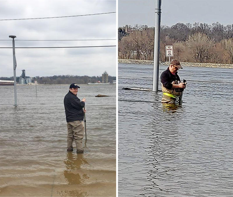 Cities, Counties Fighting the Rising Mississippi River | Tri