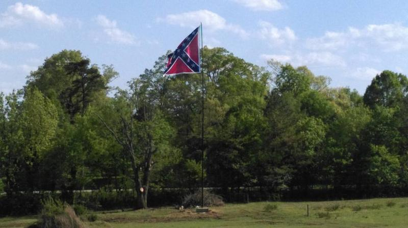 Confederate Flag Owner Challenges Orange County's Flag Size Limit