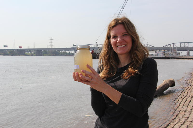 A Water Quality Activist Tests Missouri Waters For Tiny Pieces Of Plastic - KBIA