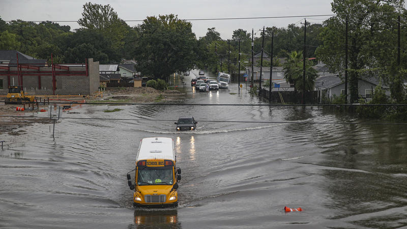 Texas Cities Try To Assess Scope Of Damage In Imelda's Wake