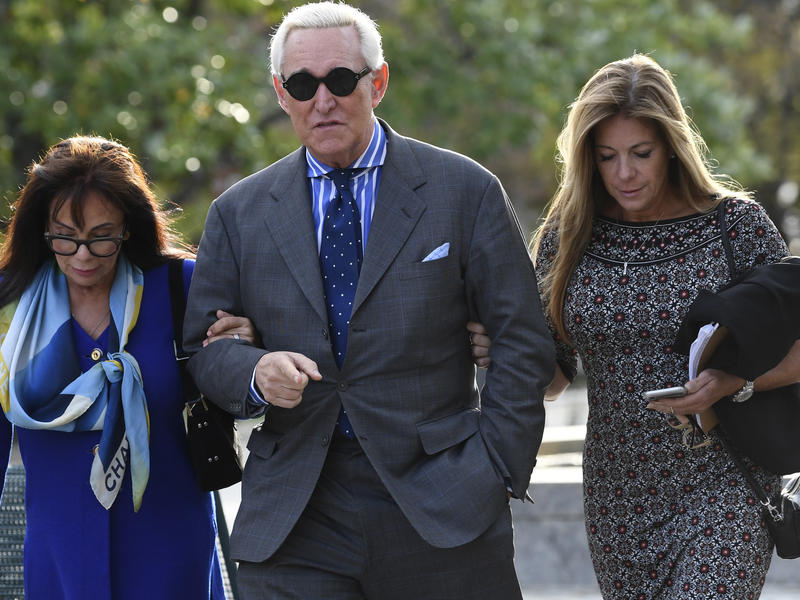 Roger Stone, Political Operative And Trump Aide, Guilty In False Statements Trial