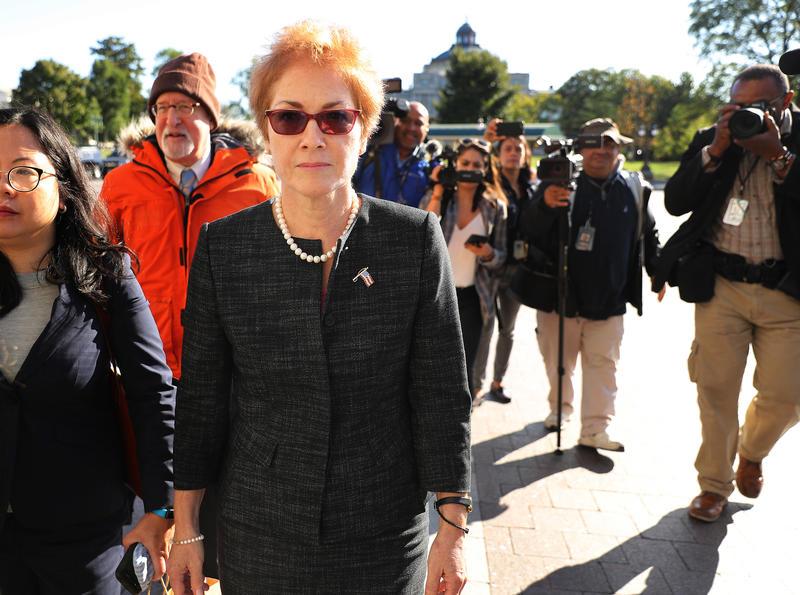 Impeachment Hearings Continue With Marie Yovanovitch, Ex-Ambassador To Ukraine