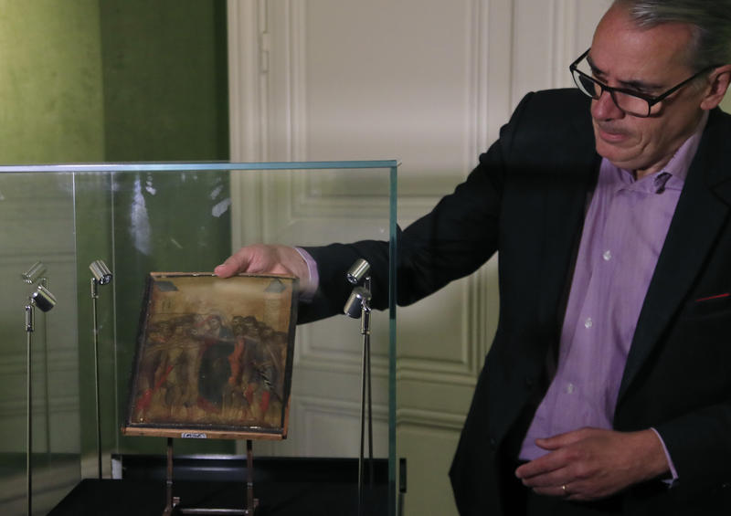 France Blocks Export Of $27 Million Medieval Painting Found In French Woman's Kitchen