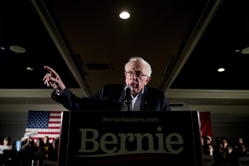 As Bernie Sanders Climbs, His Supporters Say Thanks For Noticing