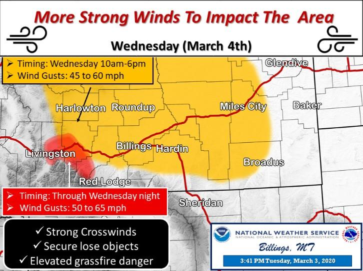 Red Flag Warnings Issued For Central And Southern Montana Mtpr