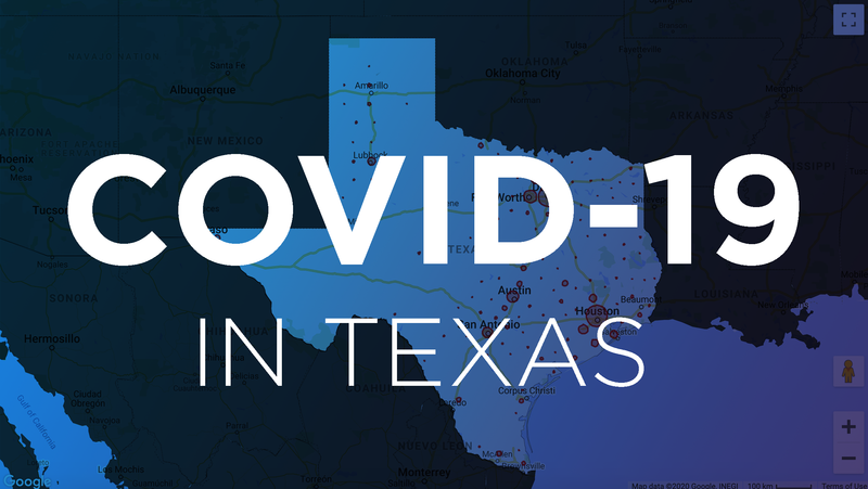 Maps: Tracking COVID-19's Spread In Texas