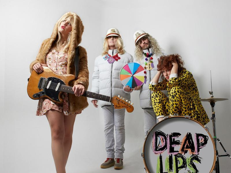 Deap Lips' Debut, 'Bam,' Is An Interstellar Excursion For The Quarantined Mind