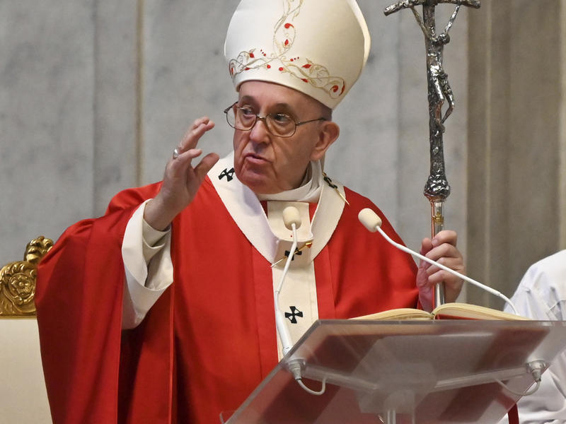 'This Is Not Humanity's First Plague,' Pope Francis Says Of Coronavirus