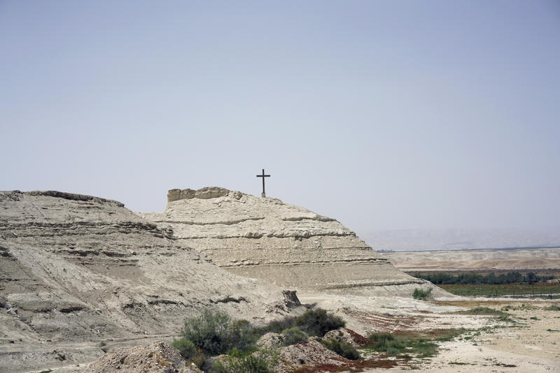 Where Jesus Was Baptized, Jordan Vies With Israel For Tourists